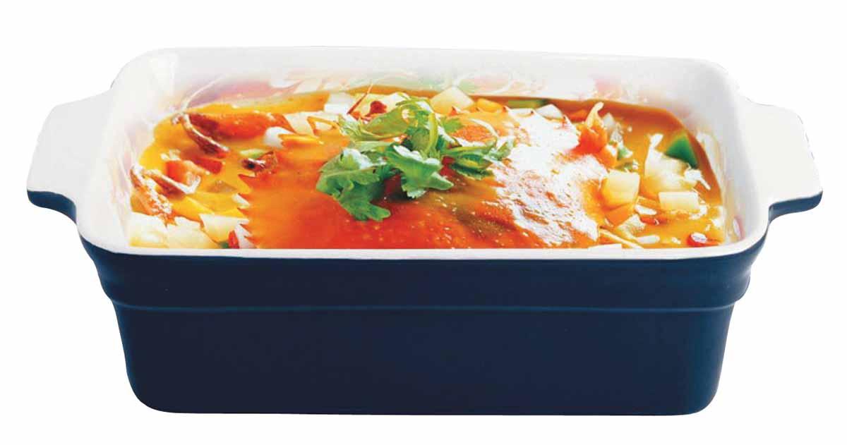 Форма для выпечки Bohmann, керамическая, прямоугольная, 29 х 16,3 х 8,8 см94672Форма для выпечки Bohmann подходит для использования в микроволновой, конвекционной печи и духовке. Подходит для хранения продуктов в холодильнике и морозильной камере. Можно мыть в посудомоечной машине. Устойчивая к образованию пятен и не пропускающая запах. В такой форме можно запечь вкусный обед или ужин, и сразу же не перекладывая на другую тарелку поставить на стол.Размер: 29 х 16,3 х 8,8 см. Нагрев до температуры 220° С.