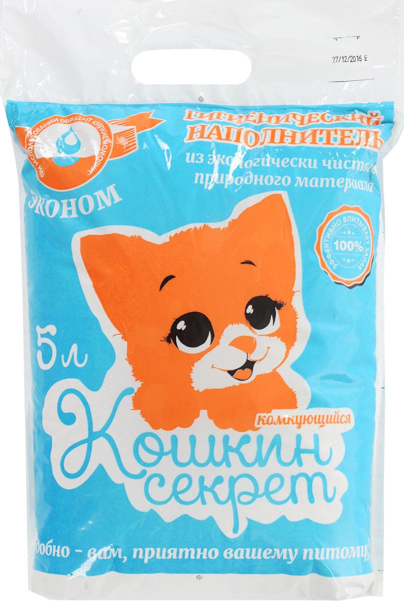 Наполнитель для кошачьего туалетоа Кошкин секрет
