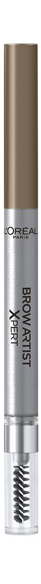 LOreal Paris Механический карандаш для бровей Brow Artist Expert, Оттенок 102, Холодный блонд28032022Механический карандаш для бровей для идеально очерченных бровей любой формы.