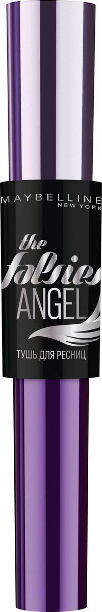 Maybelline New York Тушь для ресниц The Falsies Angel, черная, 9,5 млSC-FM20104Тушь с новым эффектом накладных ресниц. Профессиональная щеточка в форме крыла. Моделирующая формула фиксирует эффект распахнутых ресниц.