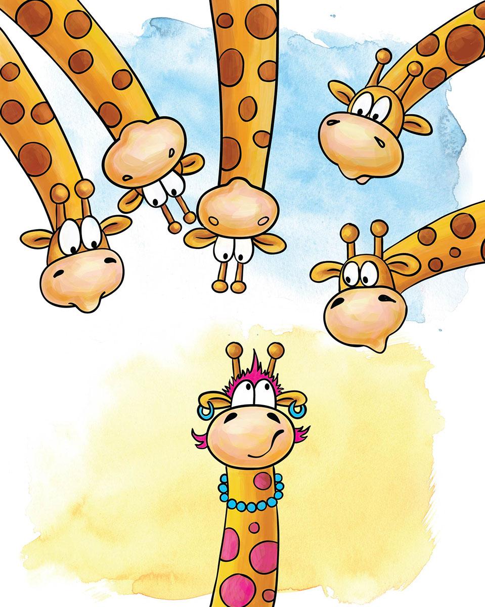 Marker Записная книжка Жирафы 24 листа в клеткуЕЖФ17515208Записная книжка Marker Жирафы подойдет для различных записей любому современному человеку.Обложка выполнена из плотного картона с оригинальным авторским рисунком.Внутренний блок состоит из 24 листов в клетку формата А6. Крепление - металлические скрепки. На каждой странице имеется забавный рисунок.