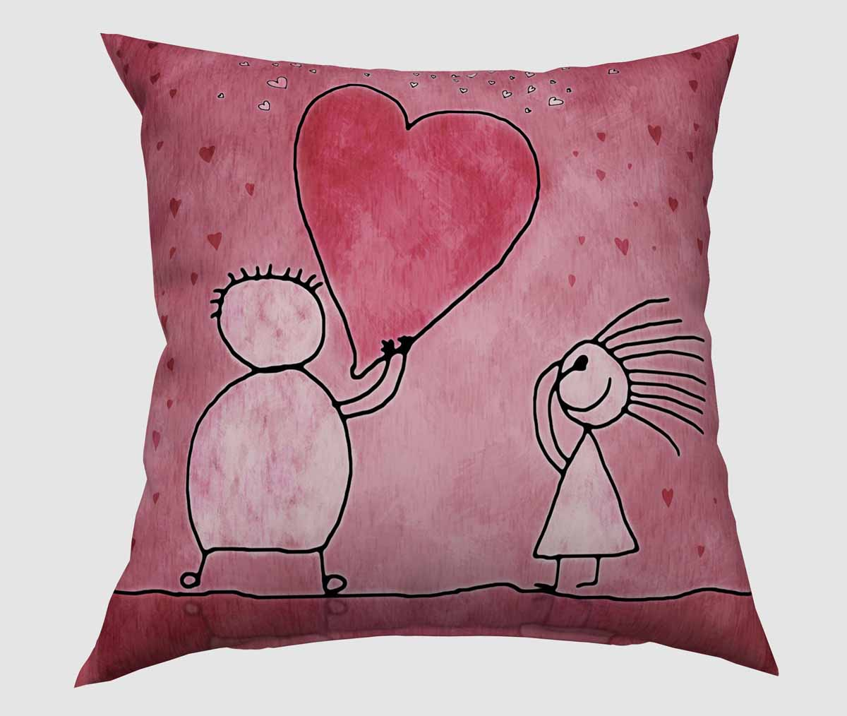 Подушка декоративная Сирень Мое сердце для тебя, 40 х 40 см531-105Декоративная подушка Сирень Мое сердце для тебя, изготовленная из габардина (100% полиэстер), прекрасно дополнит интерьер спальни или гостиной. Подушка оформлена красочным изображением. Внутри - мягкий наполнитель из холлофайбера (100% полиэстер). Красивая подушка создаст атмосферу тепла и уюта в спальне и станет прекрасным элементом декора.