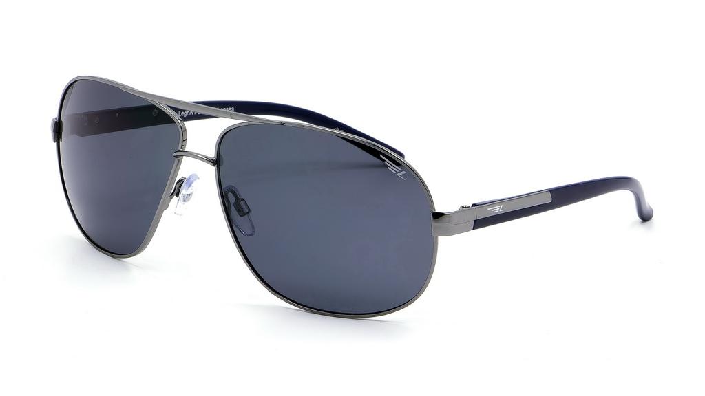 Очки поляризационные Legna, цвет: черный, серый. S4310BINT-06501Солнцезащитные очки Legna с поляризационными линзами превосходно предохраняют глаза от любого рода вредных бликов и УФ-лучей, что делает вождение безопасным и комфортным. Также очки Legna ничем не уступают самым известным маркам и брендам в эстетической части. Благодаря линзам премиум класса очки Legna прекрасно подходят для повседневной носки, занятий спортом, отдыха и конечно для использования за рулем.