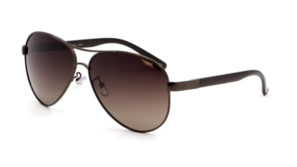 Очки поляризационные Legna, цвет: коричневый. S4409BINT-06501Солнцезащитные очки Legna с поляризационными линзами превосходно предохраняют глаза от любого рода вредных бликов и УФ-лучей, что делает вождение безопасным и комфортным. Также очки Legna ничем не уступают самым известным маркам и брендам в эстетической части. Благодаря линзам премиум класса очки Legna прекрасно подходят для повседневной носки, занятий спортом, отдыха и конечно для использования за рулем.