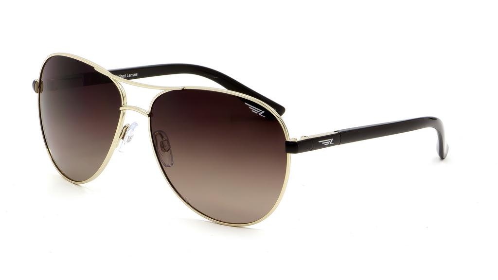 Очки поляризационные женские Legna, цвет: золоой, коричневый. S4508CBM8434-58AEСолнцезащитные очки Legna с поляризационными линзами превосходно предохраняют глаза от любого рода вредных бликов и УФ-лучей, что делает вождение безопасным и комфортным. Также очки Legna ничем не уступают самым известным маркам и брендам в эстетической части. Благодаря линзам премиум класса очки Legna прекрасно подходят для повседневной носки, занятий спортом, отдыха и конечно для использования за рулем.
