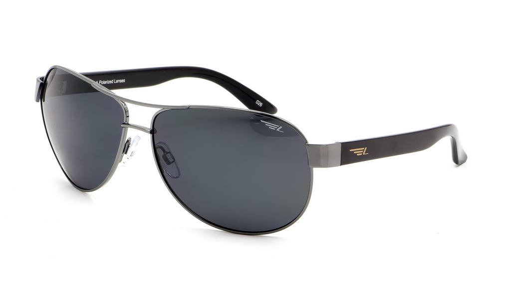 Очки поляризационные Legna, цвет: серый. S4600ABM8434-58AEСолнцезащитные очки Legna с поляризационными линзами превосходно предохраняют глаза от любого рода вредных бликов и УФ-лучей, что делает вождение безопасным и комфортным. Также очки Legna ничем не уступают самым известным маркам и брендам в эстетической части. Благодаря линзам премиум класса очки Legna прекрасно подходят для повседневной носки, занятий спортом, отдыха и конечно для использования за рулем.