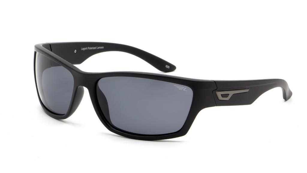 Очки поляризационные Legna, цвет: черный, серый. S7500CBM8434-58AEСолнцезащитные очки Legna с поляризационными линзами превосходно предохраняют глаза от любого рода вредных бликов и УФ-лучей, что делает вождение безопасным и комфортным. Также очки Legna ничем не уступают самым известным маркам и брендам в эстетической части. Благодаря линзам премиум класса очки Legna прекрасно подходят для повседневной носки, занятий спортом, отдыха и конечно для использования за рулем.
