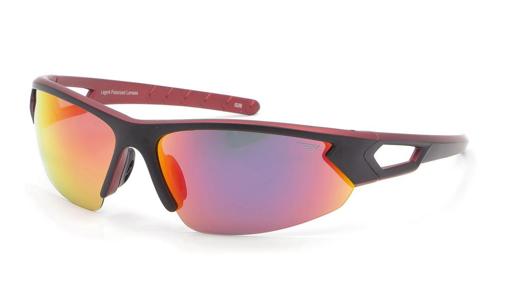 Очки поляризационные Legna, цвет: черный, красный. S8367AINT-06501Солнцезащитные очки Legna с поляризационными линзами превосходно предохраняют глаза от любого рода вредных бликов и УФ-лучей, что делает вождение безопасным и комфортным. Также очки Legna ничем не уступают самым известным маркам и брендам в эстетической части. Благодаря линзам премиум класса очки Legna прекрасно подходят для повседневной носки, занятий спортом, отдыха и конечно для использования за рулем.