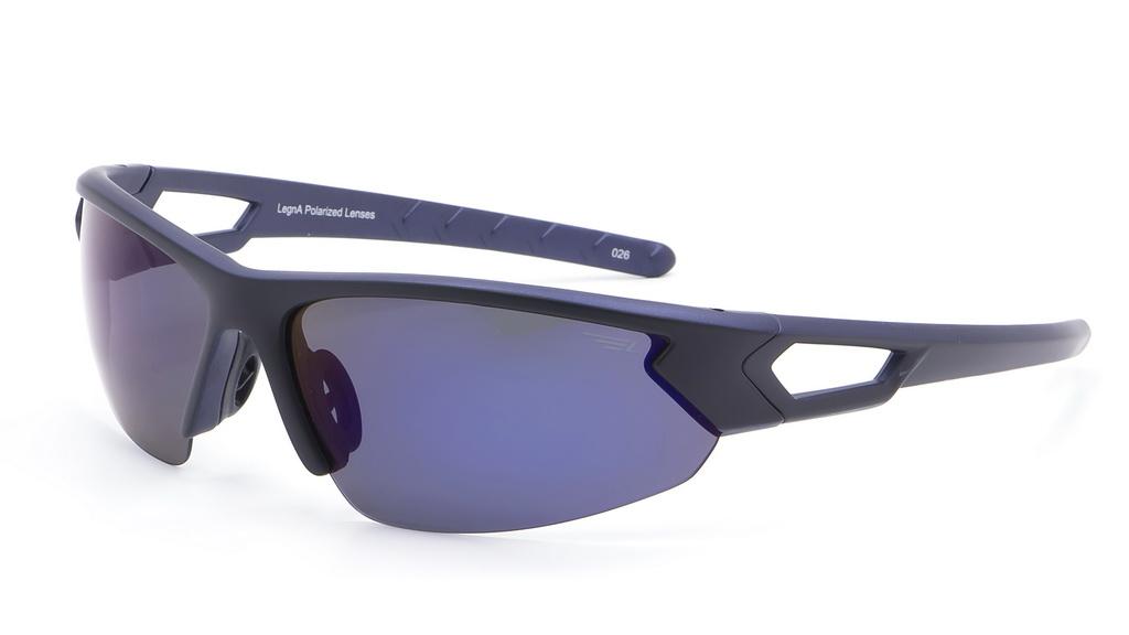 Очки поляризационные Legna, цвет: черный, синий. S8367BINT-06501Солнцезащитные очки Legna с поляризационными линзами превосходно предохраняют глаза от любого рода вредных бликов и УФ-лучей, что делает вождение безопасным и комфортным. Также очки Legna ничем не уступают самым известным маркам и брендам в эстетической части. Благодаря линзам премиум класса очки Legna прекрасно подходят для повседневной носки, занятий спортом, отдыха и конечно для использования за рулем.