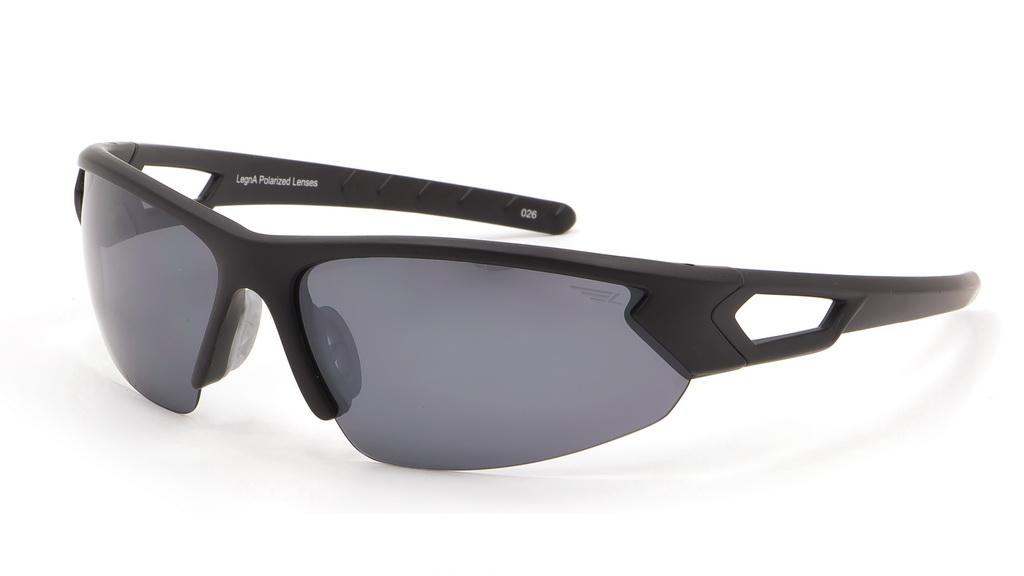 Очки поляризационные Legna, цвет: черный, серый металлик. S8367CBM8434-58AEСолнцезащитные очки Legna с поляризационными линзами превосходно предохраняют глаза от любого рода вредных бликов и УФ-лучей, что делает вождение безопасным и комфортным. Также очки Legna ничем не уступают самым известным маркам и брендам в эстетической части. Благодаря линзам премиум класса очки Legna прекрасно подходят для повседневной носки, занятий спортом, отдыха и конечно для использования за рулем.