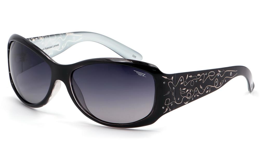 Очки поляризационные женские Legna, цвет: черный, серый. S8369ABM8434-58AEСолнцезащитные очки Legna с поляризационными линзами превосходно предохраняют глаза от любого рода вредных бликов и УФ-лучей, что делает вождение безопасным и комфортным. Также очки Legna ничем не уступают самым известным маркам и брендам в эстетической части. Благодаря линзам премиум класса очки Legna прекрасно подходят для повседневной носки, занятий спортом, отдыха и конечно для использования за рулем.