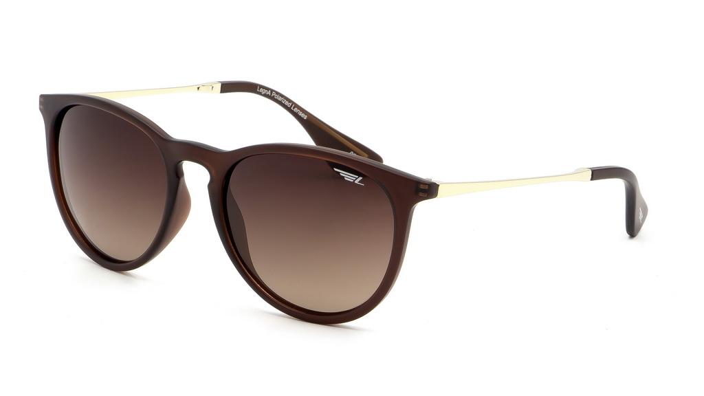 Очки поляризационные Legna, цвет: коричневый. S8602BBM8434-58AEСолнцезащитные очки Legna с поляризационными линзами превосходно предохраняют глаза от любого рода вредных бликов и УФ-лучей, что делает вождение безопасным и комфортным. Также очки Legna ничем не уступают самым известным маркам и брендам в эстетической части. Благодаря линзам премиум класса очки Legna прекрасно подходят для повседневной носки, занятий спортом, отдыха и конечно для использования за рулем.