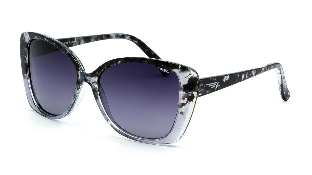 Очки поляризационные женские Legna, цвет: серый. S8603AINT-06501Солнцезащитные очки Legna с поляризационными линзами превосходно предохраняют глаза от любого рода вредных бликов и УФ-лучей, что делает вождение безопасным и комфортным. Также очки Legna ничем не уступают самым известным маркам и брендам в эстетической части. Благодаря линзам премиум класса очки Legna прекрасно подходят для повседневной носки, занятий спортом, отдыха и конечно для использования за рулем.