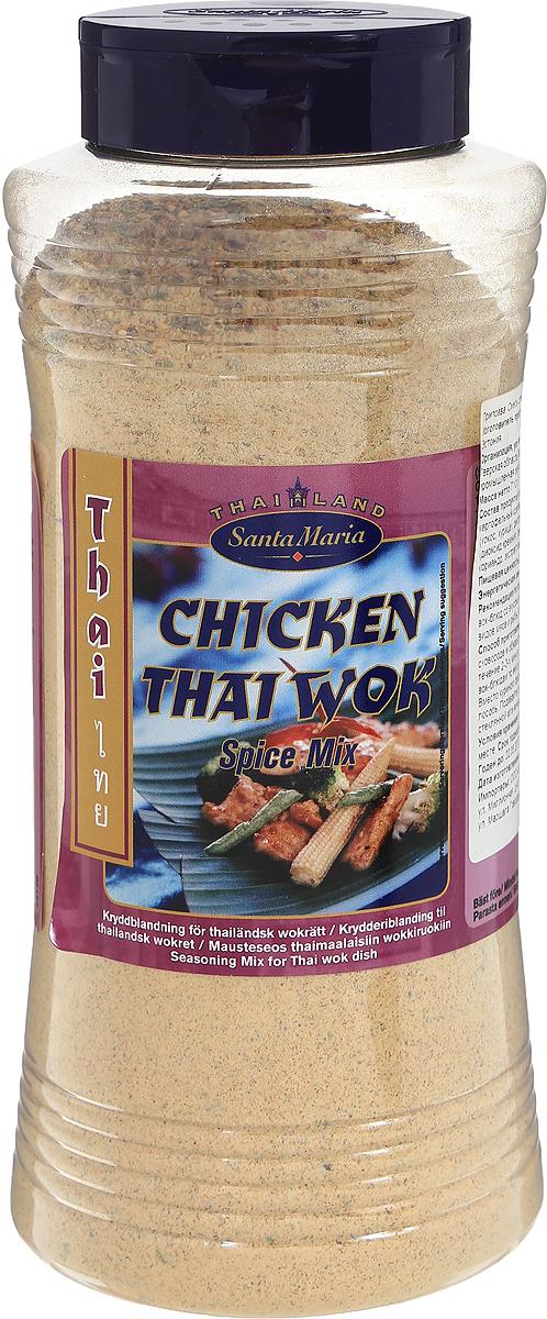 Santa Maria Смесь специй к куриным вок-блюдам, 710 г0120710Смесь специй к куриным вок-блюдам - это приправа для приготовления тайских вок-блюд со вкусом лайма и чеснока. Подходит для блюд из курицы, всех видов мяса и рыбы, блюд из мясного фарша, а также овощей.Уважаемые клиенты! Обращаем ваше внимание, что полный перечень состава продукта представлен на дополнительном изображении.