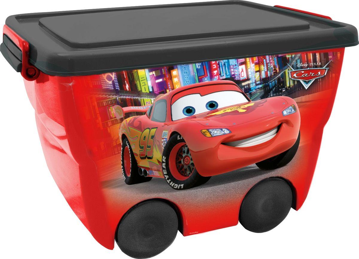 Disney Ящик для игрушек 46 х 33 х 29 см цвет красныйK100Детский ящик для хранения игрушек Disney - лучшее решение для поддержания порядка в детской. Яркое изображение наполнит детскую радостью и поможет приучить малыша к порядку.Эргономичные ручки-защелки ящика позволят малышу без труда открывать и переносить ящик.