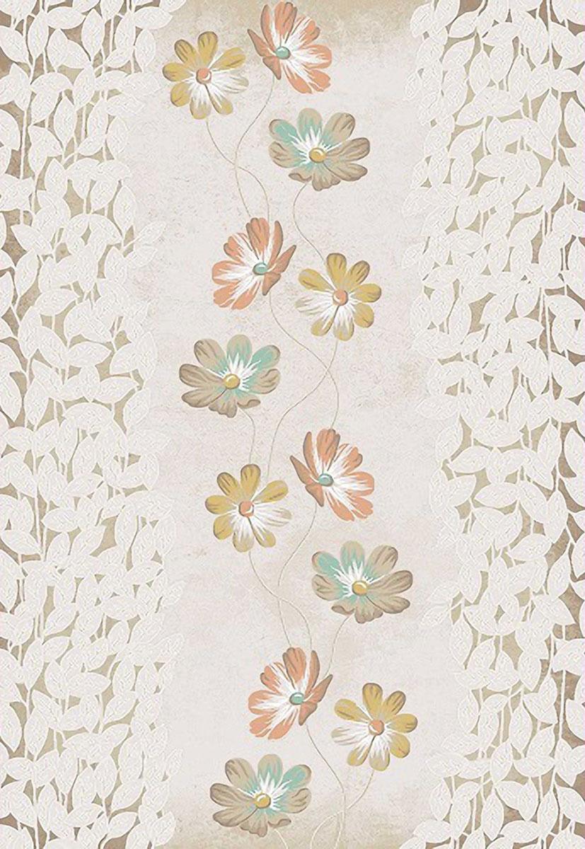 Ковер Mutas Carpet Симла, цвет: светло-коричневый, 120 х 180 см. 203420130212181502ES-412Ковер Mutas Carpet Симла, изготовленный из высококачественного материала, прекрасно подойдет для любого интерьера. За счет прочного ворса ковер легко чистить. При надлежащем уходе синтетический ковер прослужит долго, не утратив ни яркости узора, ни блеска ворса, ни упругости. Самый простой способ избавить изделие от грязи - пропылесосить его с обеих сторон (лицевой и изнаночной). Влажная уборка с применением шампуней и моющих средств не противопоказана. Хранить рекомендуется в свернутом рулоном виде.