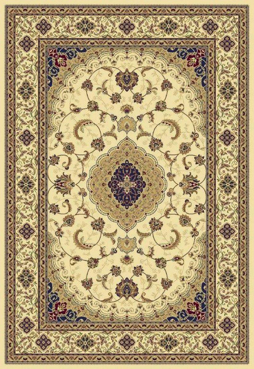 Ковер ART Carpets Арт Сапфир, цвет: бежевый, 120 х 180 см. 203420130212183667FS-91909Ворс искусственная вискоза (100% полипропилен)