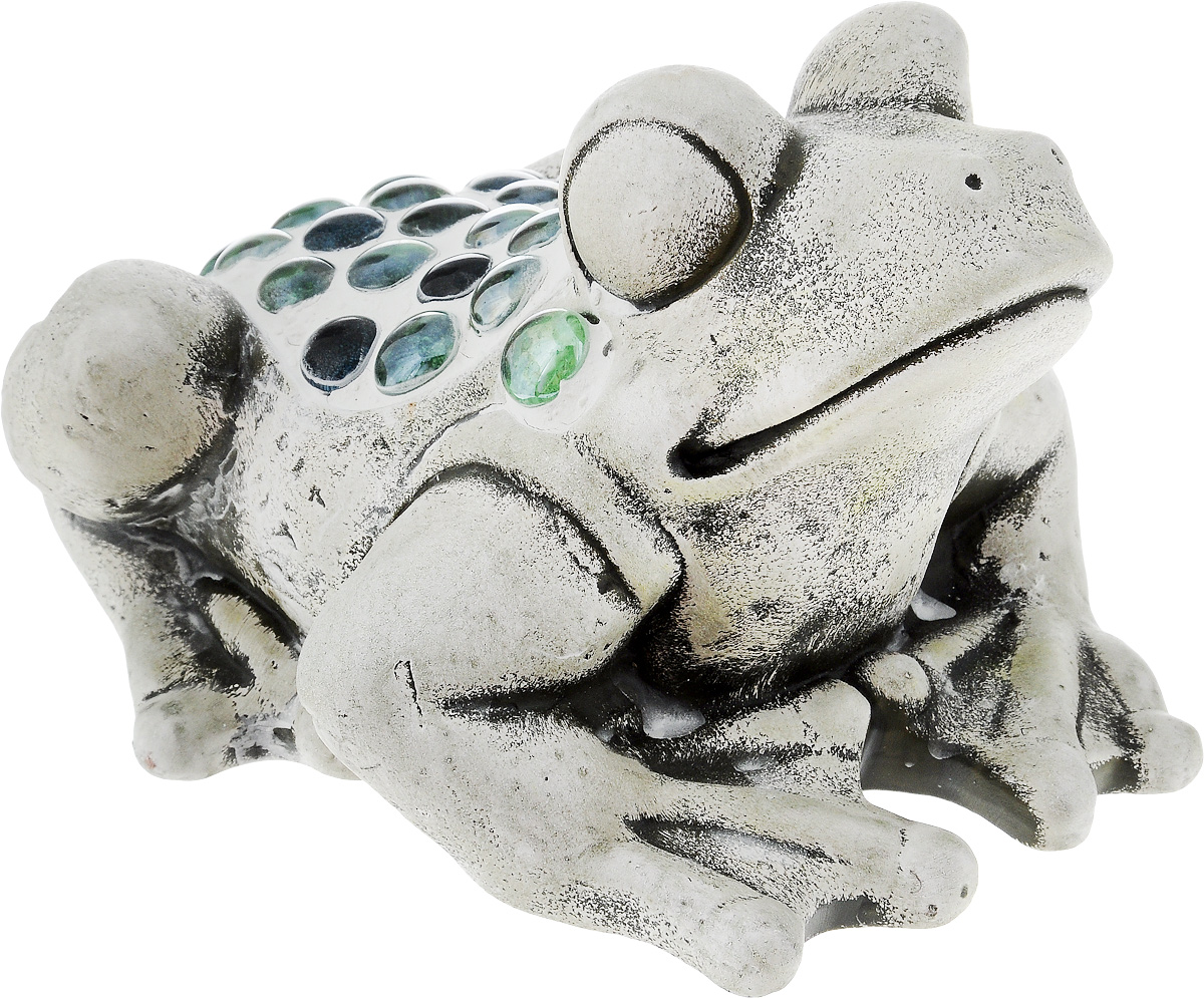 Фигурка декоративная Лилло Лягушка, высота 12 смFLY01131..Декоративная фигурка Лилло Лягушка станет необычным аксессуаром для вашего интерьера и создаст незабываемую атмосферу. Фигурка изготовлена из керамики в виде лягушки. Эта очаровательная вещь послужит отличным подарком близкому человеку, родственнику или другу, а также подарит приятные мгновения и окунет вас в лучшие воспоминания.