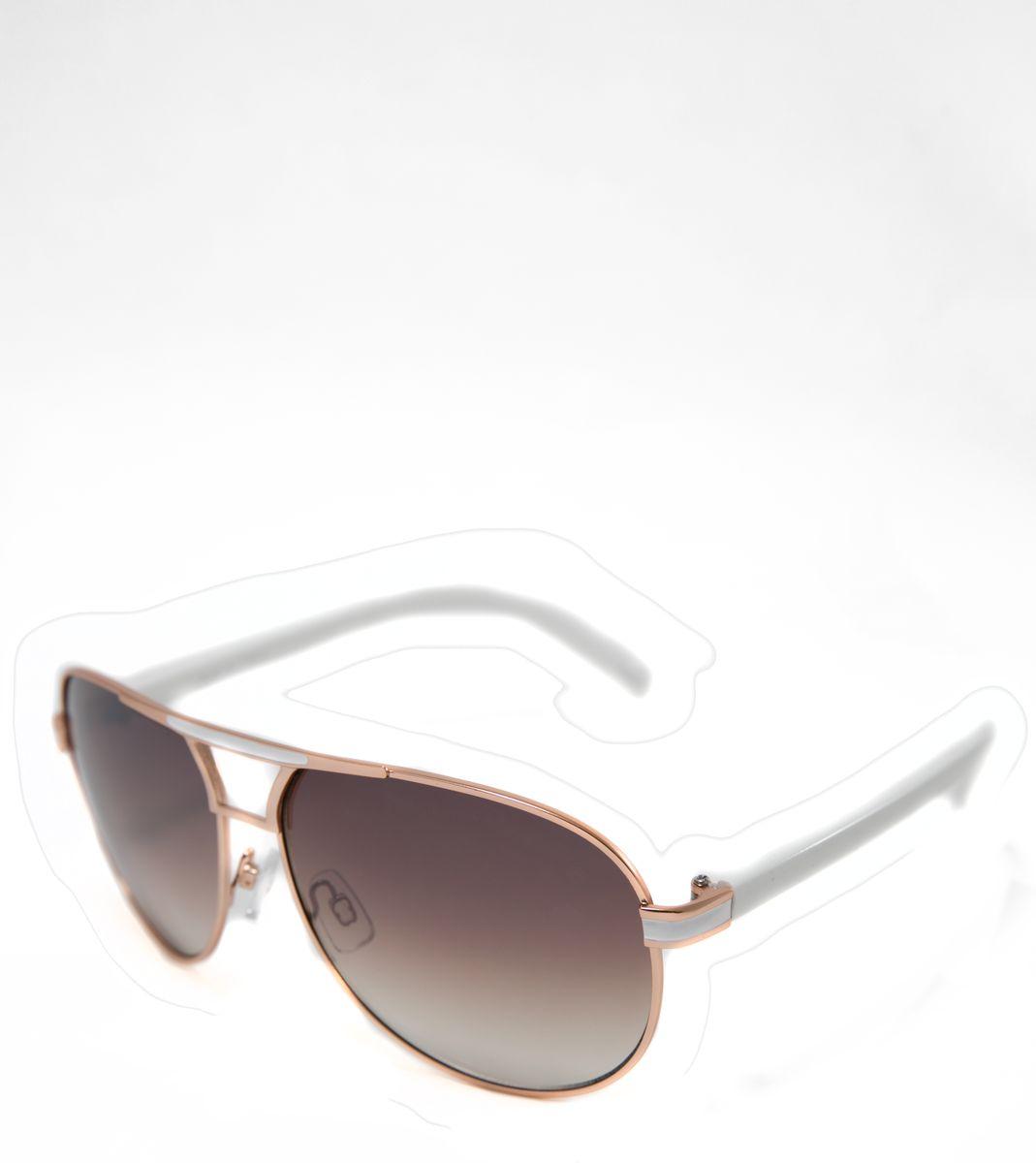 Очки солнцезащитные Mitya Veselkov, цвет: белый. MSK-1704-3INT-06501Прекрасные антибликовые очки Mitya Veselkov, станут прекрасным и стильным аксессуаром для вас и защитят от УФ лучей. Они помогут глазу более четко распознать картинку, засвеченную солнечными лучами, при этом скорректируют все возникшие искажения.