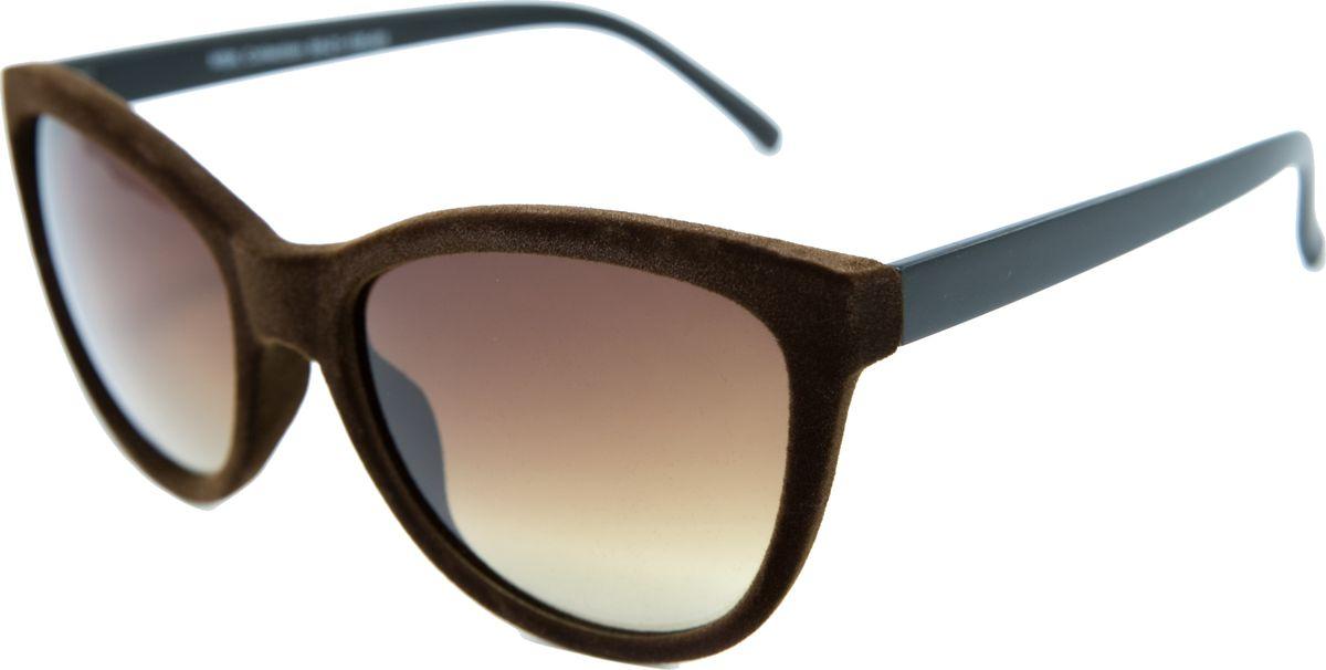 Очки солнцезащитные женские Mitya Veselkov, цвет: коричневый. MSK-2606-3BM8434-58AEПрекрасные антибликовые очки Mitya Veselkov, станут прекрасным и стильным аксессуаром для вас и защитят от УФ лучей. Они помогут глазу более четко распознать картинку, засвеченную солнечными лучами, при этом скорректируют все возникшие искажения.