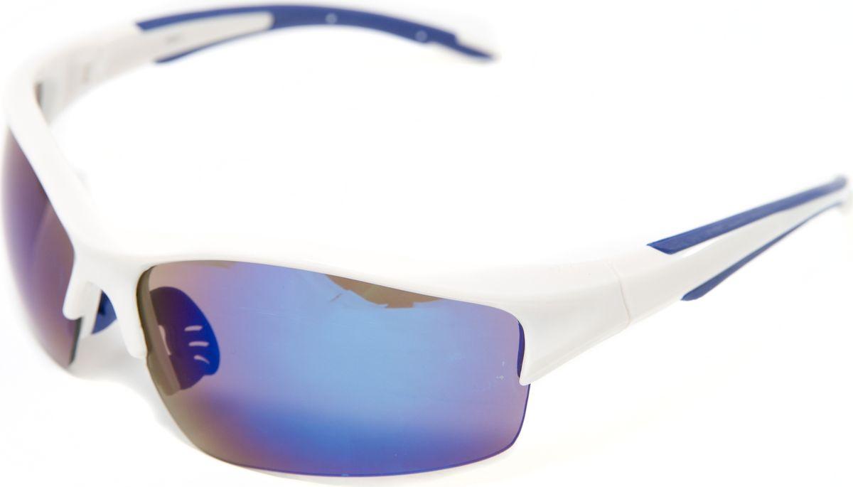 Очки солнцезащитные Mitya Veselkov, цвет: белый. MSK-4601-4INT-06501Прекрасные антибликовые очки Mitya Veselkov, станут прекрасным и стильным аксессуаром для вас и защитят от УФ лучей. Они помогут глазу более четко распознать картинку, засвеченную солнечными лучами, при этом скорректируют все возникшие искажения.