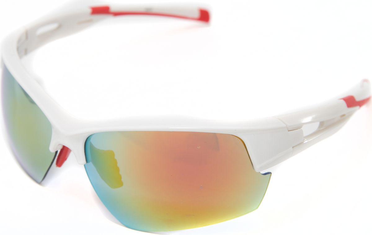 Очки солнцезащитные Mitya Veselkov, цвет: белый. MSK-4602-4BM8434-58AEПрекрасные антибликовые очки Mitya Veselkov, станут прекрасным и стильным аксессуаром для вас и защитят от УФ лучей. Они помогут глазу более четко распознать картинку, засвеченную солнечными лучами, при этом скорректируют все возникшие искажения.
