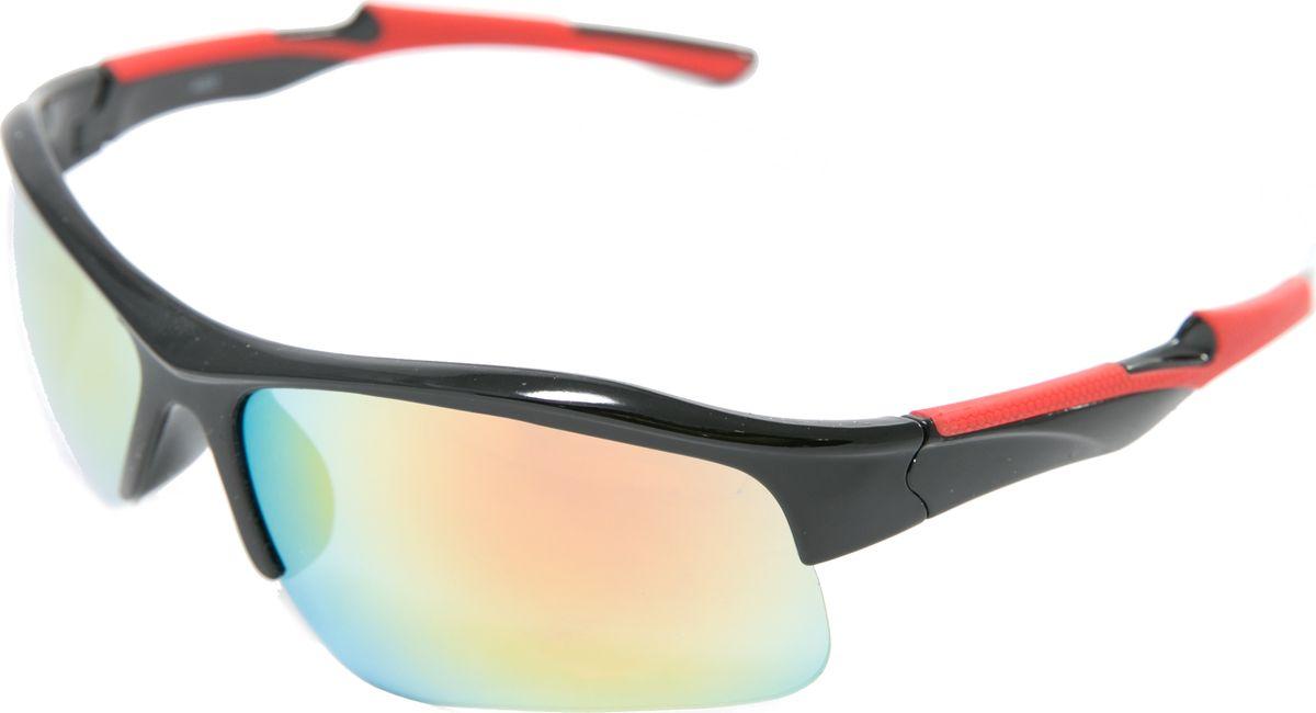 Очки солнцезащитные Mitya Veselkov, цвет: черный. MSK-4603-4INT-06501Прекрасные антибликовые очки Mitya Veselkov, станут прекрасным и стильным аксессуаром для вас и защитят от УФ лучей. Они помогут глазу более четко распознать картинку, засвеченную солнечными лучами, при этом скорректируют все возникшие искажения.