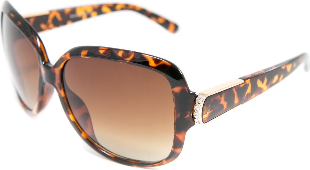 Очки солнцезащитные женские Mitya Veselkov, цвет: коричневый. MSK-7109-3BM8434-58AEПрекрасные антибликовые очки Mitya Veselkov, станут прекрасным и стильным аксессуаром для вас и защитят от УФ лучей. Они помогут глазу более четко распознать картинку, засвеченную солнечными лучами, при этом скорректируют все возникшие искажения.