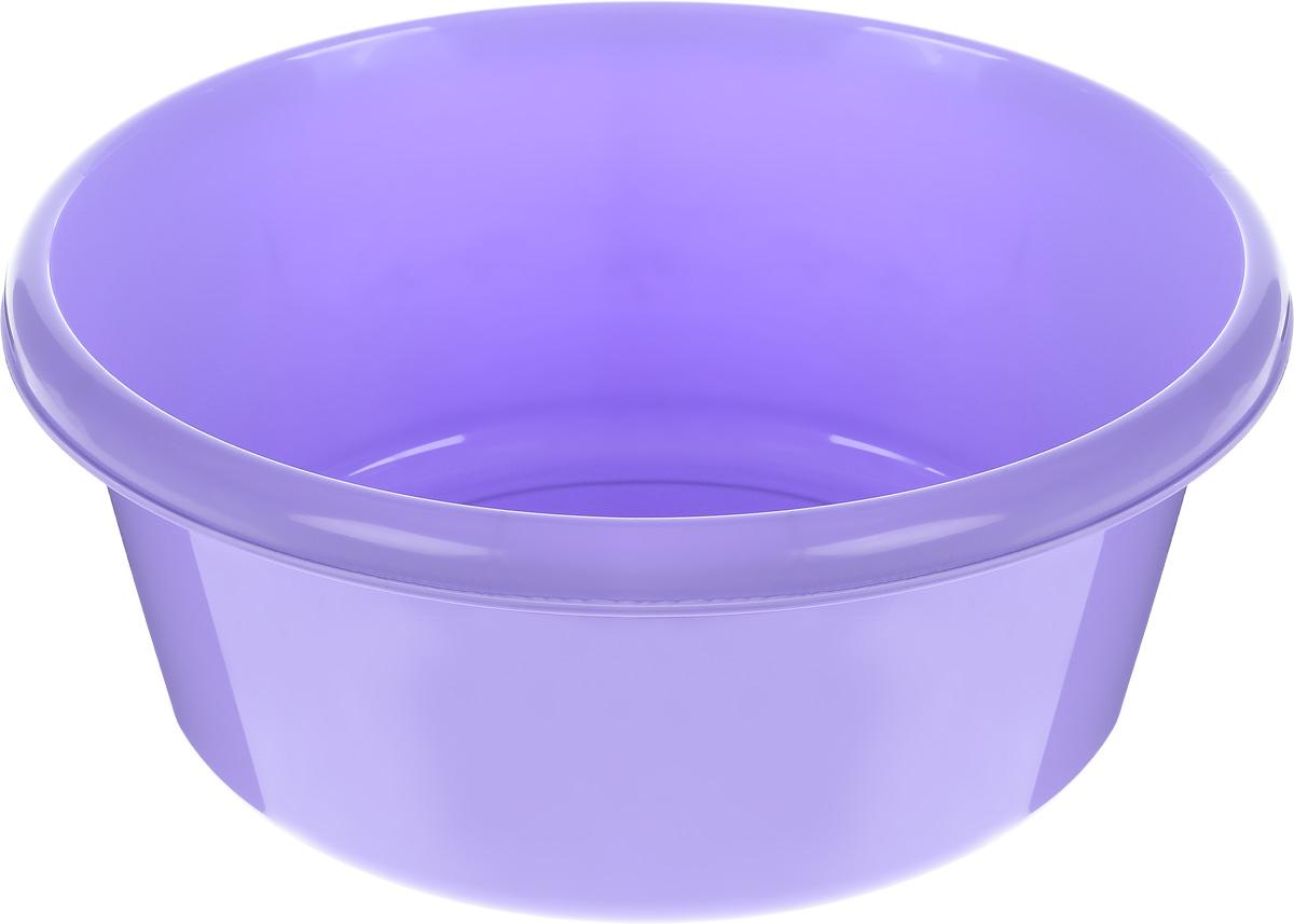 Таз Idea, круглый, цвет: лиловый, 11 лDAVC150Таз Idea выполнен из прочного пластика. Он предназначен для стирки и хранения разных вещей. Также в нем можно мыть фрукты. Такой таз пригодится в любом хозяйстве.Диаметр таза (по верхнему краю): 33 см. Высота стенки: 15 см.