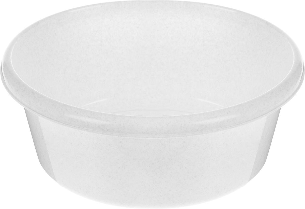 Таз Idea, круглый, цвет: мраморный, 11 л787502Таз Idea выполнен из прочного пластика. Он предназначен для стирки и хранения разных вещей. Также в нем можно мыть фрукты. Такой таз пригодится в любом хозяйстве.Диаметр таза (по верхнему краю): 33 см. Высота стенки: 15 см.