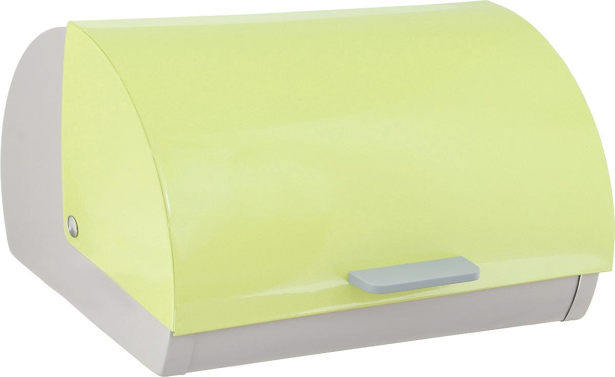 Хлебница Wellberg Danish, 30 х 28 х 19 смFA-5125 WhiteХлебница Wellberg Danish, выполненная из высококачественной нержавеющей стали, позволит сохранить ваш хлеб свежим и вкусным. Изделие оснащено плавно открывающейся крышкой с пластиковой ручкой. Стильный яркий дизайн хлебницы выгодно дополнит любой кухонный интерьер. Хлебница надолго сохранит свежесть, мягкость, аромат хлеба и других хлебобулочных изделий.