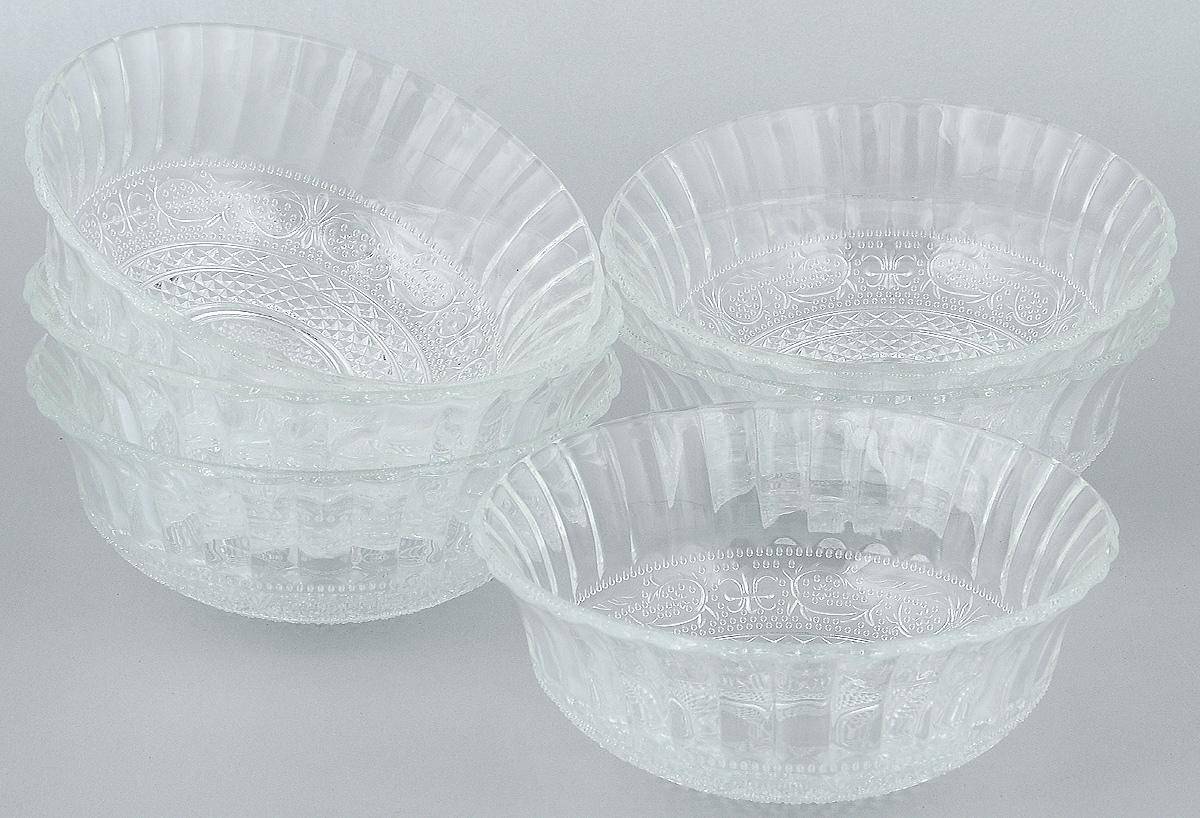 Набор салатников Wellberg, 6 предметов. 50451WB54 009312Набор Wellberg включает в себя 6 небольших салатников. Изделия выполнены из высококачественного стекла. Салатники отлично подойдут для сервировки стола. Оригинальность дизайна набора всем придется по вкусу.Салатники можно мыть в посудомоечной машине.Диаметр салатников по верхнему краю: 15 см.Диаметр основания салатников: 5 см.Высота салатников: 6 см.