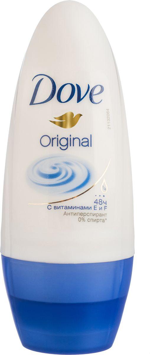 Dove Антиперспирант ролл Оригинал 50 млSatin Hair 7 BR730MNАнтиперсипрант Dove Оригинал обеспечивает защиту от пота на 48 часов и на 1/4 состоит из особенного увлажняющего крема, который способствует восстановлению кожи после бритья, делая ее более гладкой и нежной.