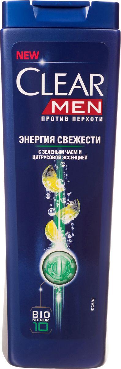 Clear vita ABE Men Шампунь против перхоти для мужчин Энергия свежести 400 мл5184556Придает ощущение свежести и легкости Вашим волосам весь день.