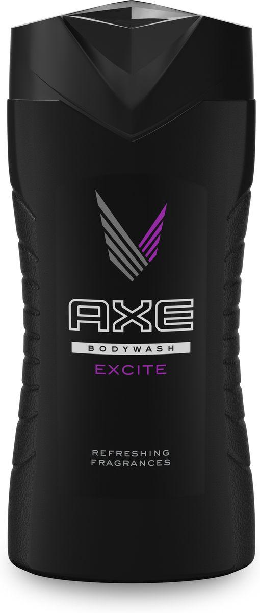 Axe Гель для душа Excite 250 млFS-00897AXE Excite - аромат, который действительно сводит с ума, притягивает и пробуждает самые яркие чувства. Даже ангелы не устоят.