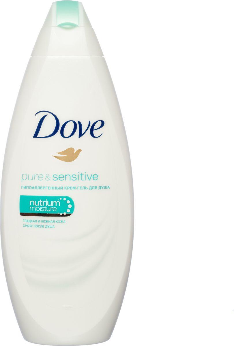 Dove Крем-гель для душа для чувствительной кожи Гипоаллергенный 250 мл05230259709Бережное очищение и превосходный уход. Только крем-гель для душа Dove сочетает в себе необыкновенно мягкое очищение и комплекс Nutrium Moisture - наша уникальная композиция увлажняющих компонентов и родственных коже липидов, которая способствует восстановлению кожи изнутри, делая ее красивой надолго. Бережно очищает. Глубоко питает. Сохраняет красоту. Гипоаллергенный. Подходит для чувствительной кожи. Клинически протестирован. Без парабенов.