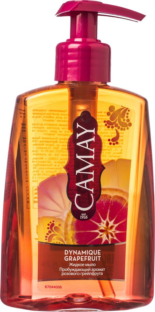 Camay Жидкое мыло Динамик 250 млMP59.4DЖидкое мыло Dynamique Grapefruit (Динамик) дарит коже рук энергичный аромат розового грейпфрута и белых цветов, делая ее соблазнительно нежной и благоухающей.