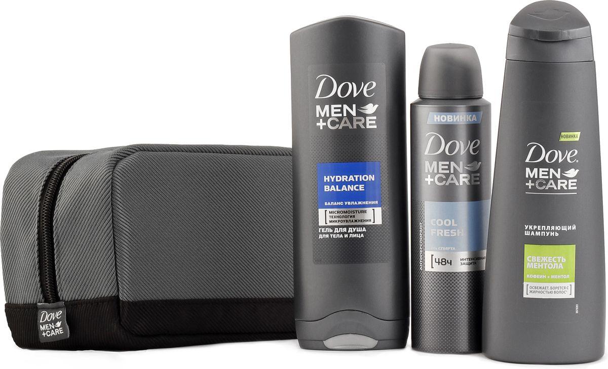 Dove подарочный набор Men+care67087523Появление бренда Dove связано с созданием уникального очищающего средства для кожи, не содержащего щелочи. Формула единственного в своем роде крем-мыла на четверть состоит из увлажняющего крема - именно это его качество помогает защищать кожу от раздражения и сухости, которые неизбежны при использовании обычного мыла.Dove —марка, которая известна благодаря авангардному изобретению: мягкому крем-мылу. Dove любим миллионами, ведь они не содержат щелочи, оказывают мягкое, щадящее воздействие на кожу лица и тела.Удивительное по своим свойствам крем-мыло довольно быстро стало одним из самых популярных косметических средств. Успех этого продукта был настолько велик, что производители долгое время не занимались расширением ассортимента. Прошло почти сорок лет с момента регистрации товарного знака Dove, прежде чем свет увидел крем-гель для душа и другие косметические средства этой марки. Все они создаются на основе формулы, разработанной еще в прошлом веке, но не потерявшей своей актуальности.На сегодняшний день этот бренд по праву считается олицетворением красоты, здоровья и женственности. Помимо женской линии косметики выпускаются детские косметические средства и косметика для мужчин. Несмотря на широкий ассортимент предлагаемых средств по уходу за кожей и волосами, завоевавших признание в более чем 80 странах по всему миру, производители находятся в постоянном поиске новых формул.Dove считается одним из ведущих в своей области. Он известен миллионам людей в почти сотне стран по всему миру. В мире Dove красота — это источник уверенности в себе, а не беспокойства. Миссия бренда — дать новому поколению возможность расти в атмосфере позитивного отношения к собственной внешности. Подарочный набор для настоящих мужчин. Укрепляющий шампунь Dove MEN+CARE от перхоти защитит кожу головы и укрепит Ваши волосы, Гель для душа Dove MEN+CARE Clean Comfort подарит вам ощущение свежести и увлажнит Вашу кожу, а Антиперспирант Dove MEN+CARE Clean Comfo