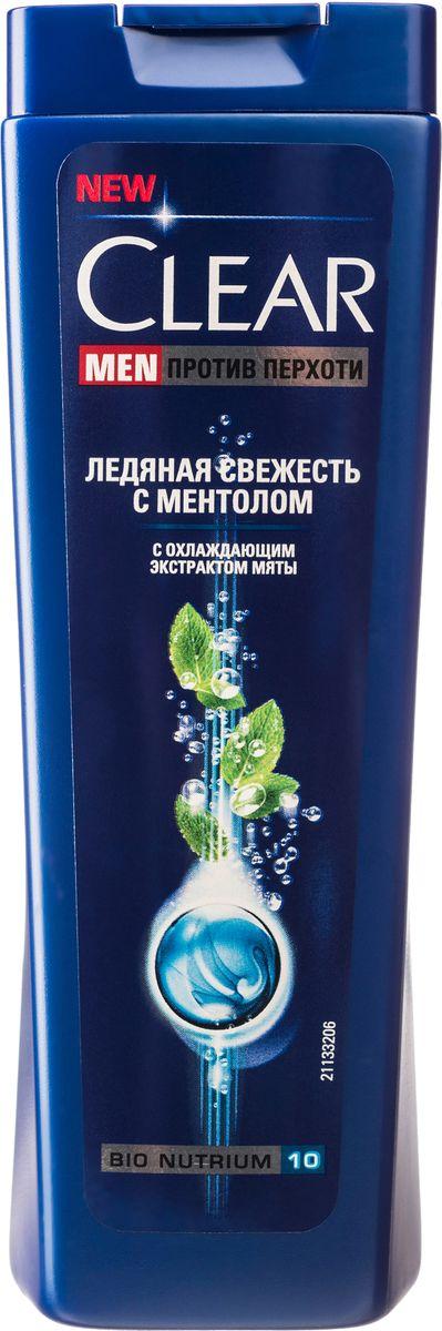 Clear Men Шампунь против перхоти Ледяная свежесть с ментолом 200 млMP59.4DСозданный специально для мужчин Шампунь Ледяная свежесть с ментолом и эвкалиптом обеспечивает двойное действие: унимает зуд и смягчает раздражение. Комплекс Nutrium 10, входящий в состав шампуня — это насыщенная смесь 10 питательных веществ и растительных активных компонентов. При регулярном применении он активирует естественный защитный слой против перхоти кожи головы, позволяя вам гарантированно защищаться от перхоти.