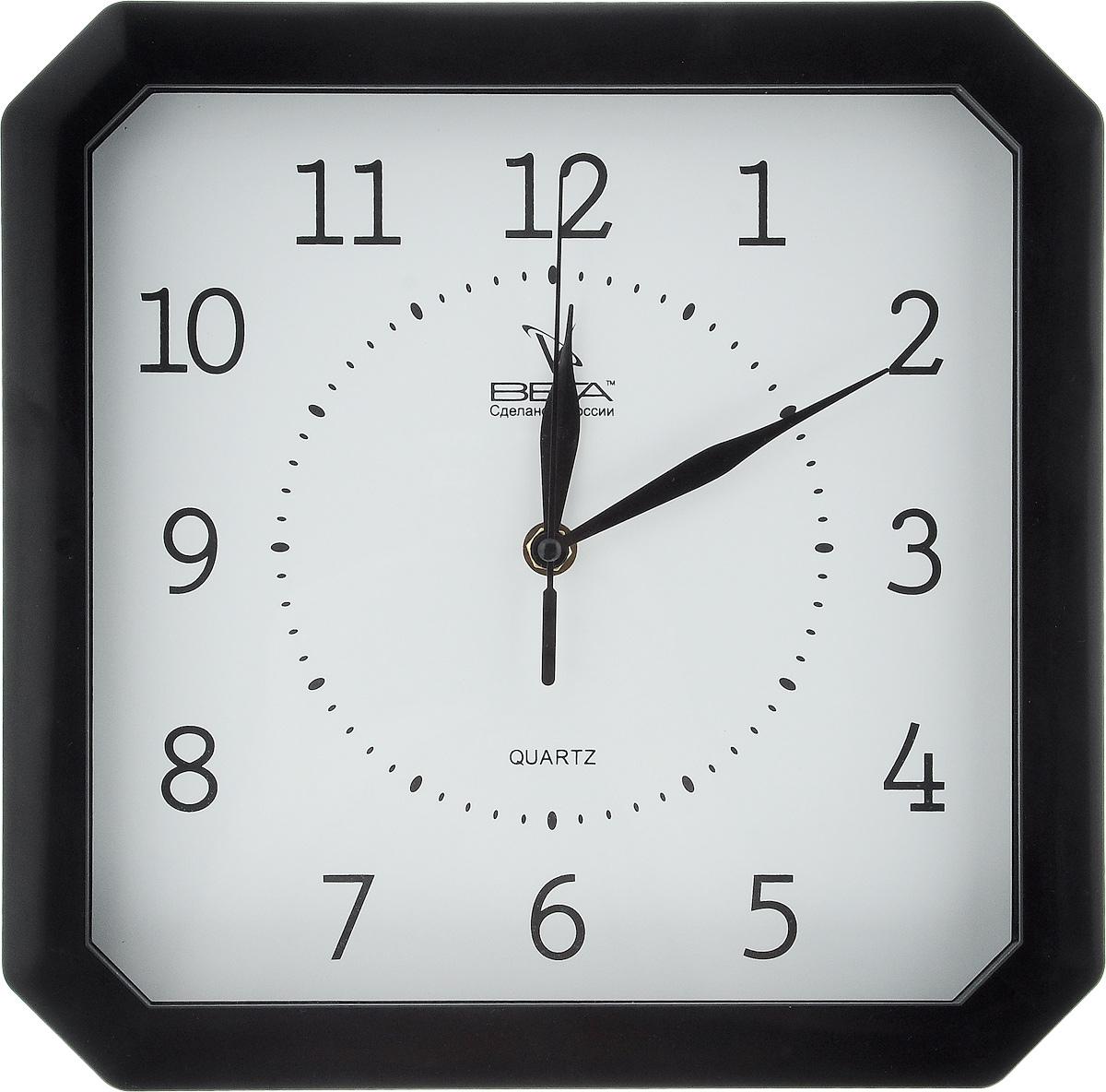 Часы настенные Вега Классика, 27,8 х 27,8 смП1-6/6-4Настенные кварцевые часы Вега Классика, изготовленные из пластика, прекрасно впишутся в интерьер вашего дома. Часы имеют три стрелки: часовую, минутную и секундную, циферблат защищен прозрачным стеклом. Часы работают от 1 батарейки типа АА напряжением 1,5 В (не входит в комплект).Прилагается инструкция по эксплуатации.