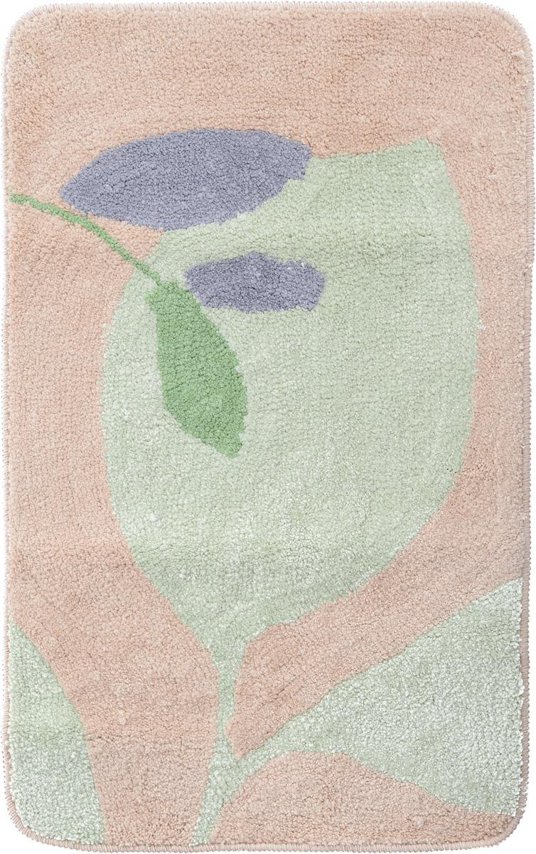 Коврик для ванной комнаты Fresh Code, цвет: зеленый, светло-оранжевый, 80 х 50 см391602Коврик для ванной Fresh Code изготовлен из 100% полиэстера. Коврик, украшенный ярким цветным рисунком, создаст уют в ванной комнате. Высокий пушистый ворс из микрофибры превосходно впитывает влагу, создает комфортное, очень мягкое покрытие.Рекомендации по уходу: - стирать в ручном режиме, - не использовать отбеливатели, - не гладить,- не подходит для сухой чистки (химчистки).