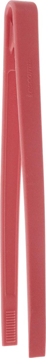 Щипцы кулинарные Tescoma Space Tone, цвет: красный, длина 28 см115610Кулинарные щипцы Tescoma Space Tone, выполненные из высококачественного термостойкого нейлона, предназначены для комфортных манипуляций с приготавливаемым продуктом. Такими щипцами удобно переворачивать мясо, тефтели, колбаски, рулеты и другие продукты во время приготовления.Щипцы оснащены отверстием, за которое можно их повесить в удобном для вас месте. Выдерживают температуру до +210°С.Можно мыть в посудомоечной машине. Длина щипцов: 28 см.