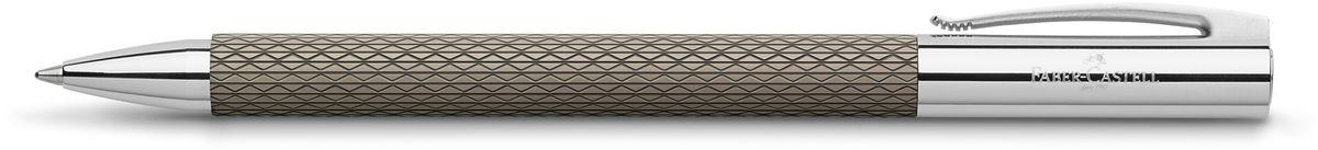 Faber-Castell Ручка шариковая Ambition Op Art Black Send97091Шариковая ручка высшего качества корпус изготовлен из редкой смолы с уникальным рисунком оба конца из хромированного шлифованного металла упругий клип поворотный механизм twistобъемный черный стержень Миндивидуальная подарочная упаковка