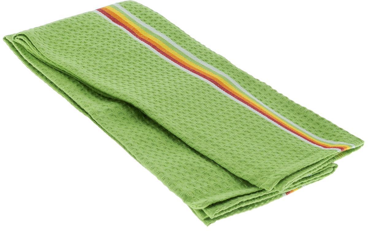 Полотенце для посуды Tescoma Presto Tone, цвет: зеленый, 70 x 50 см, 2 штVT-1520(SR)Мягкое полотенце Tescoma Presto Tone выполнено из натурального хлопка. Изделие отлично впитывает влагу и не оставляет подтеков. Полотенце предназначено для протирания посуды и многофункционального использования на кухне. В комплект входят 2 полотенца. Традиционная клеточка и сочные цвета сделают изделие украшением любого кухонного интерьера.Размер: 70 х 50 см.
