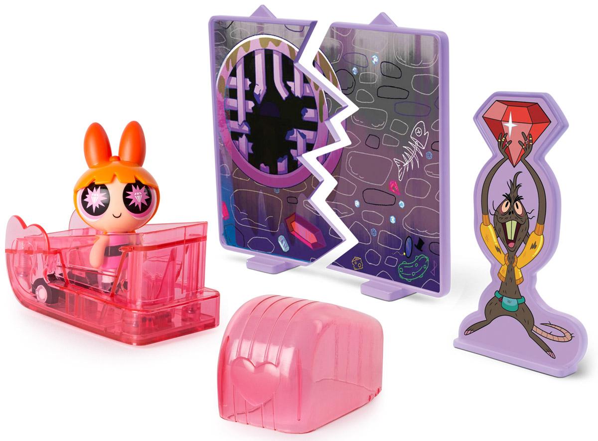 Powerpuff Girls Игровой набор Цветик в машинке