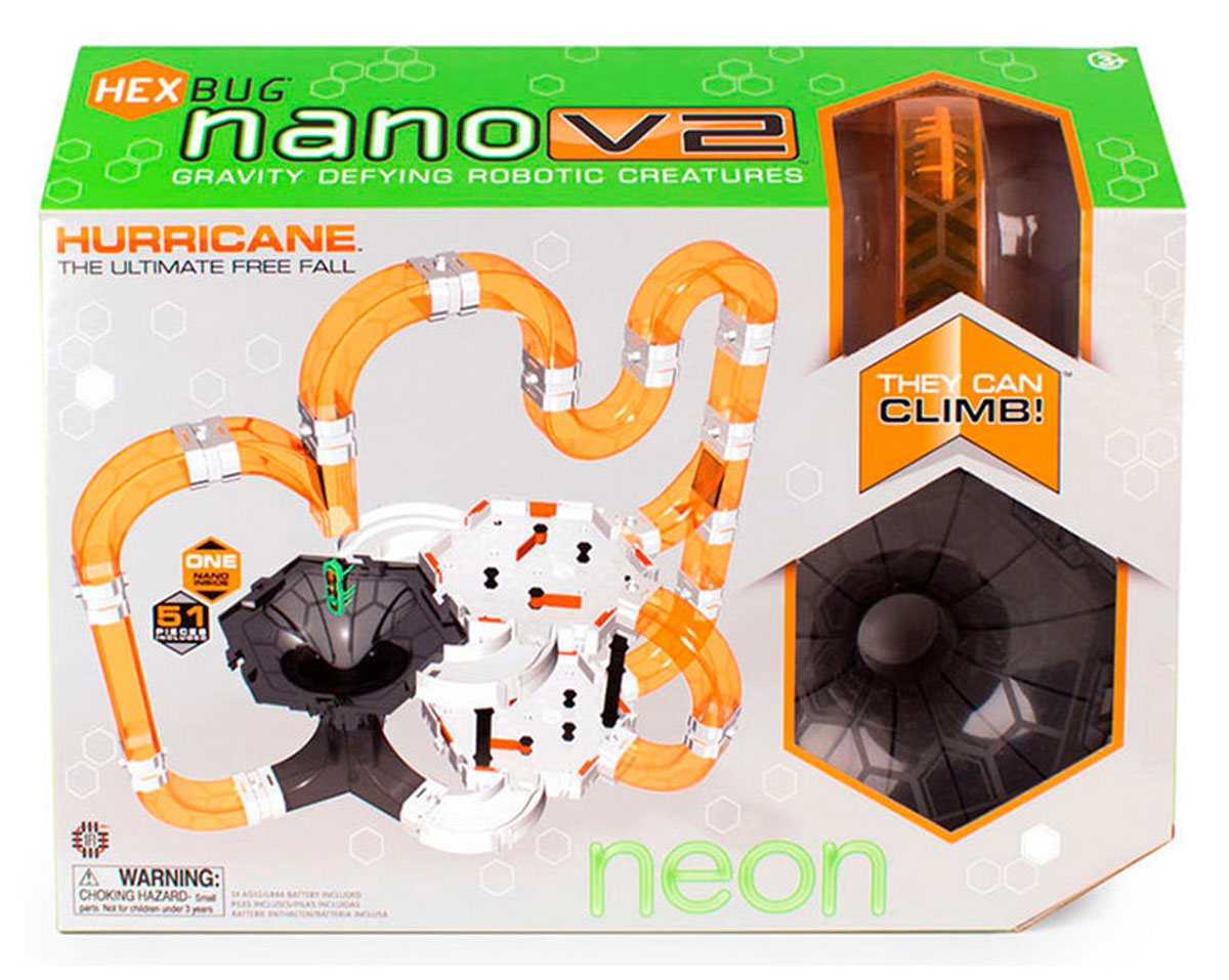 Hexbug Игровой набор Nano V2 Hurricane hexbug игровой набор с микро роботами нано v2 ланчпад neon