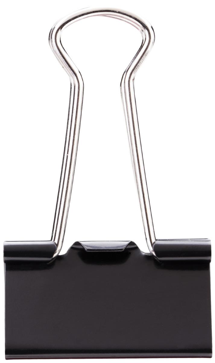Deli Зажим для бумаг цвет черный ширина 32 мм 12 штFS-54100Зажим для бумаг Deli подходит для скрепления бумажных носителей.Зажим металлический с электрофоретическим покрытием, которое исключает возникновения царапин, ржавчин и разрушений. В упаковке 12 зажимов черного цвета.