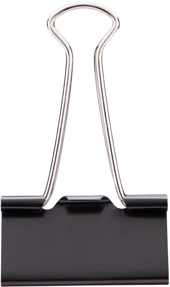 Deli Зажим для бумаг 4,1 см цвет черный 12 штFS-00261Зажимы металлические с электрофоретическим покрытием, исключающим возникновение царапин, ржавение, разрушение.