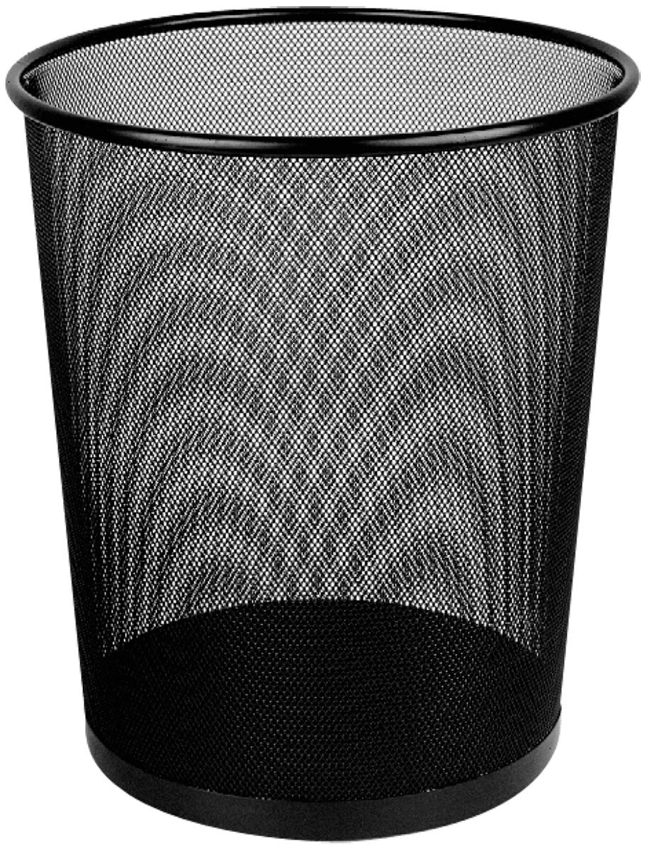 Deli Корзина для бумаг 16 лFS-36056Корзина для бумаг Deli выполнена из металлической сетки и предназначена для сбора мелкого мусора и бумаг.Удобная компактная корзина прекрасно впишется в интерьер гостиной, спальни, офиса или кабинета.