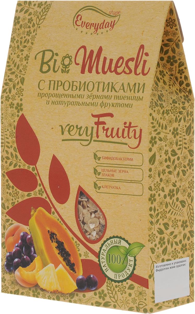 Everyday Bio мюсли с фруктами, 250 г